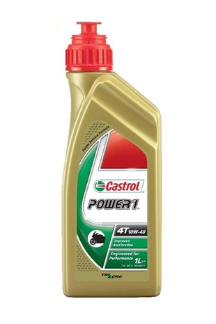 Castrol Power 1  4T 10W-40 Yağ 1Lt.